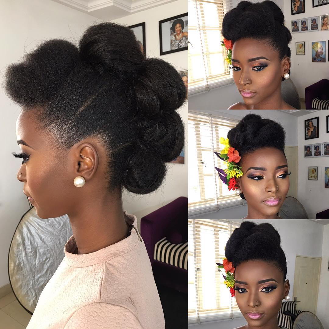 Video: Quick Protective Style On Natural Hair
