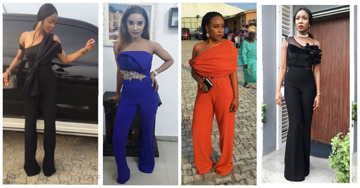 Seen These Sexy Nigerian Jumpsuits Lately