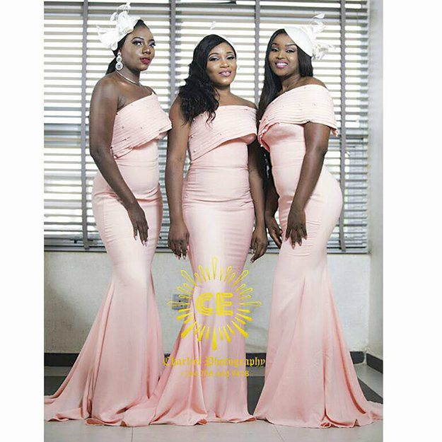 Here Are Some Nigerian Designed Bridesmaids Dresses