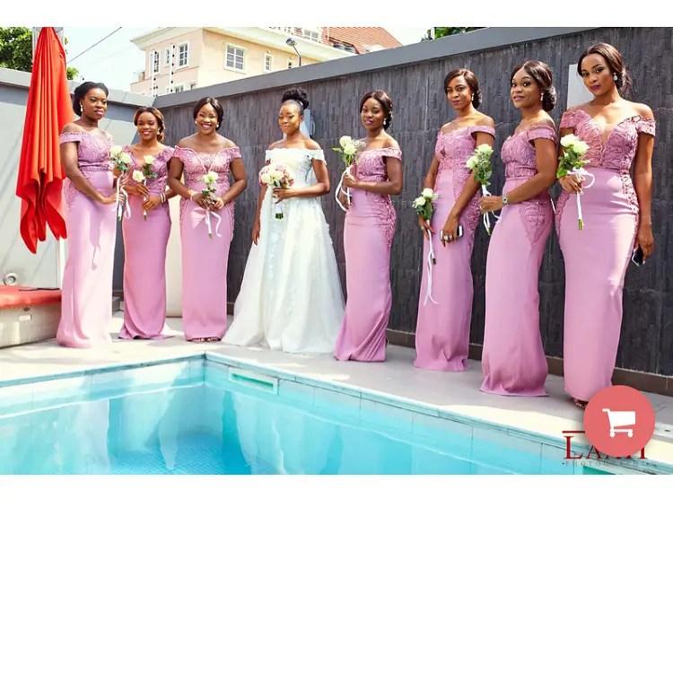 Here Are Some Nigerian Designed Bridesmaids Dresses