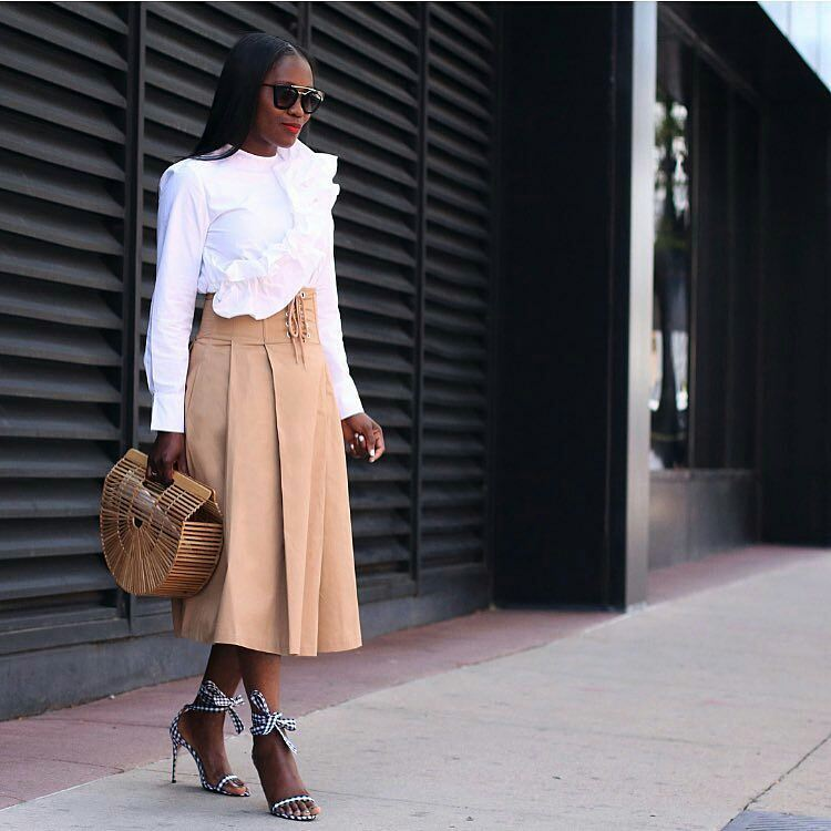 Off To Church? Get Inspired By These Fancy Church Outfits
