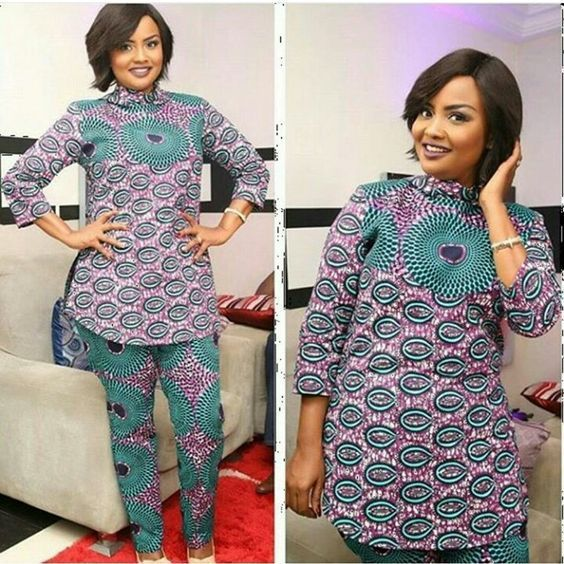 Great Ways To Mix-Match Gorgeous Ankara Styles