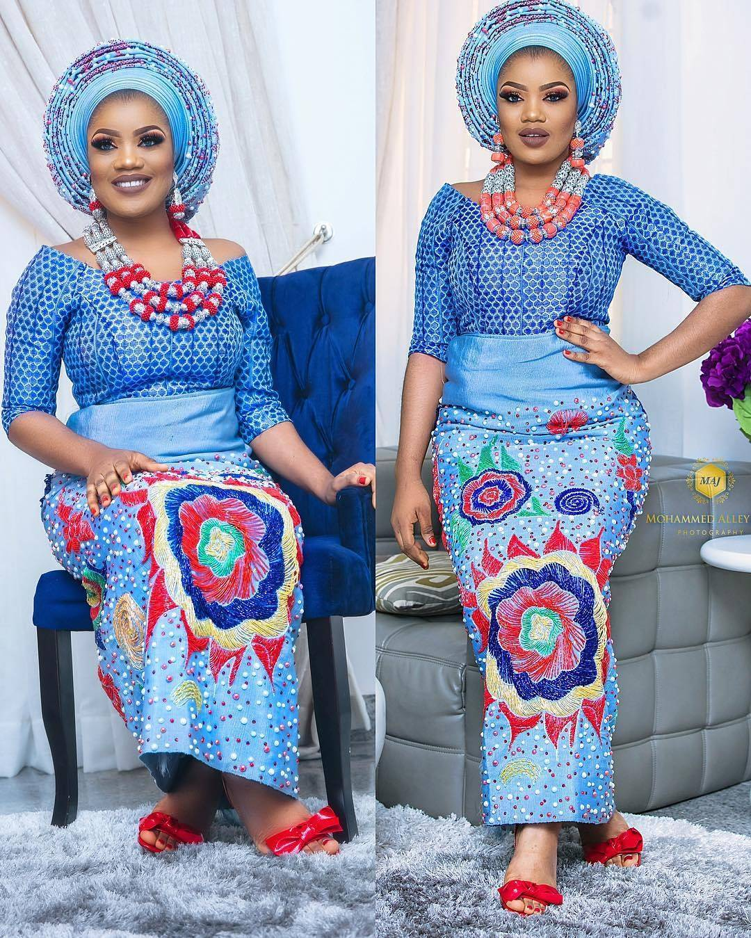 Traditional: All Shades Of Beautiful Nigerian Brides Traditional