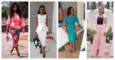 these Stylish Business Casual Attire Fashion Divas Are Slaying To Work.