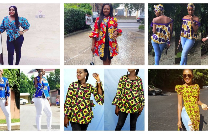 Easy Breezy! Beautiful Ankara Casual Tops For The Relaxing Weekend