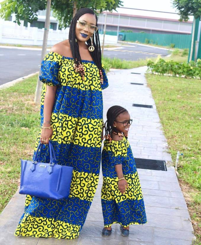 Mummy And Daughter Twinning Fashion Styles