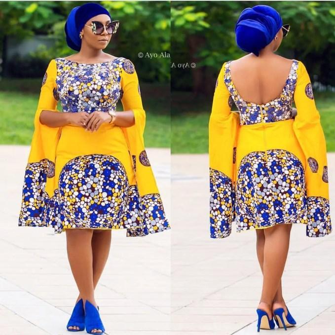 New Latest Short Ankara Styles For September