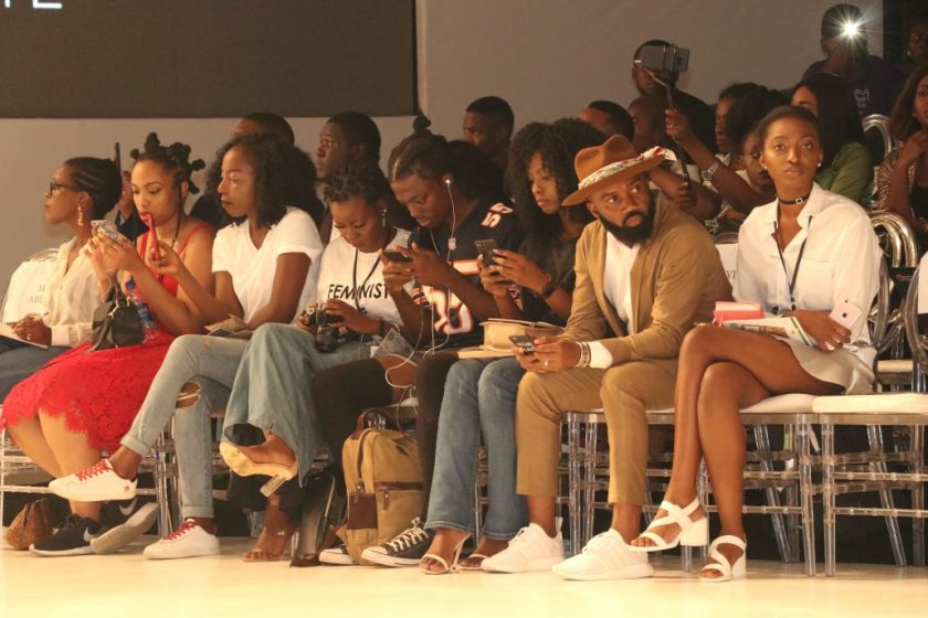FROW at Day 1 of #HeinekenLFDW17-amillionstyles