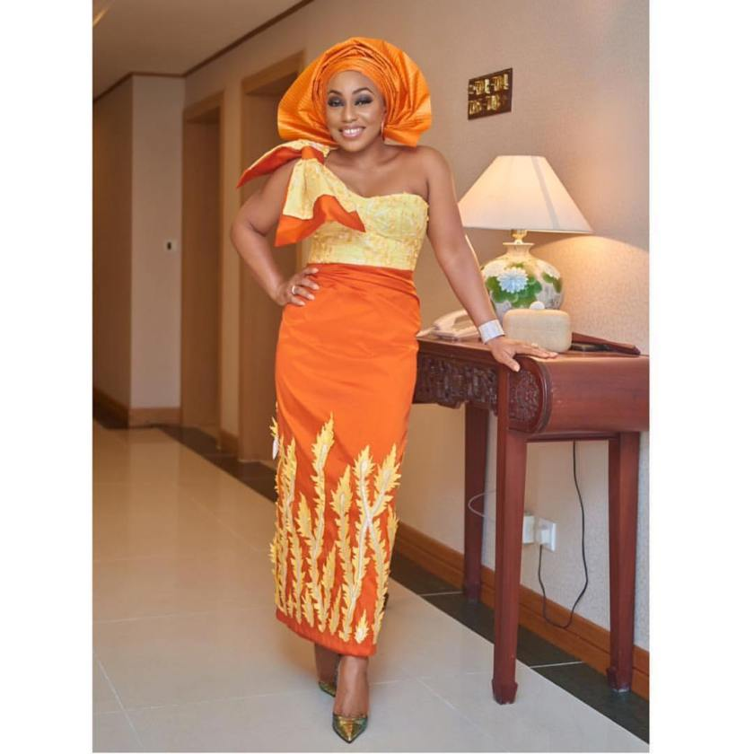 Best Asoebi Styles Of The Week Oct 28- Nov 3