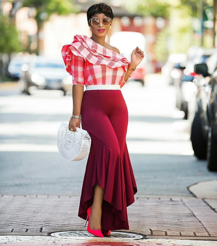 Rock The Ruffle Pants Trend With Class!