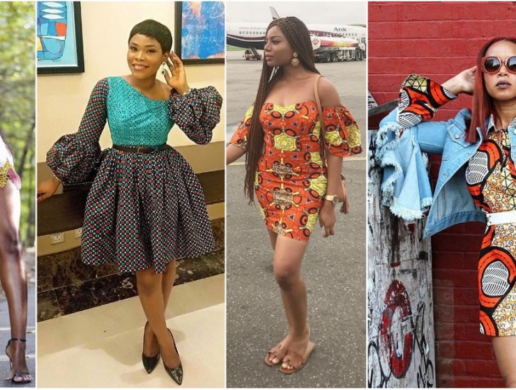 Getting In The Mood For Cute Short Ankara Gowns