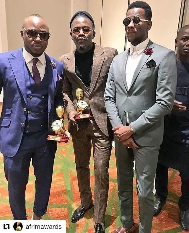 "afrima 2017 winners Fashion Styles ""Scene"" At The 2017 AFRIMA"
