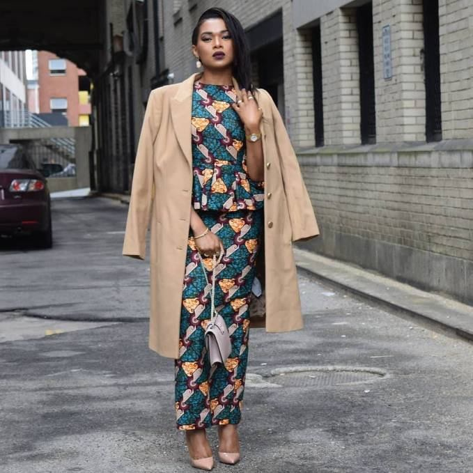 These are The Perfect Ankara Styles For Work This Ember Period