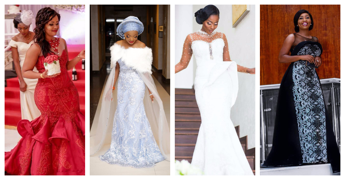 This Seasons Best And Astonishing Second Dresses Brides Are Slaying