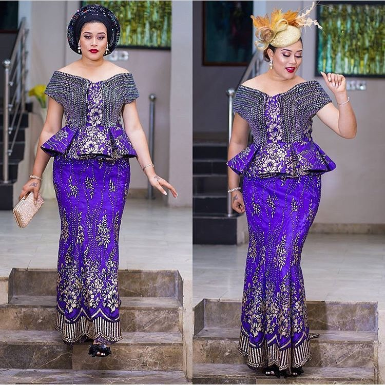 Take These Friday Asoebi Styles Coole For The Weekend