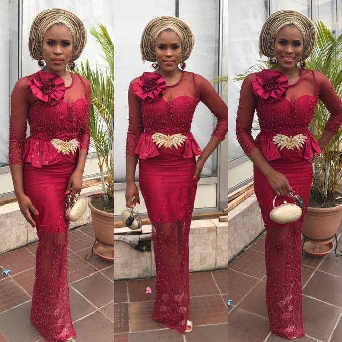 On A Scale Of 1-10 Rate These Gorgeous Lace Asoebi Styles!