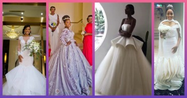 Trendy Brides In Gorgeous 2017 Weddings Gowns