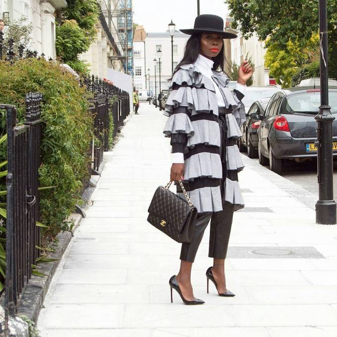 See What Fashionistas Wore To Church Last Sunday!