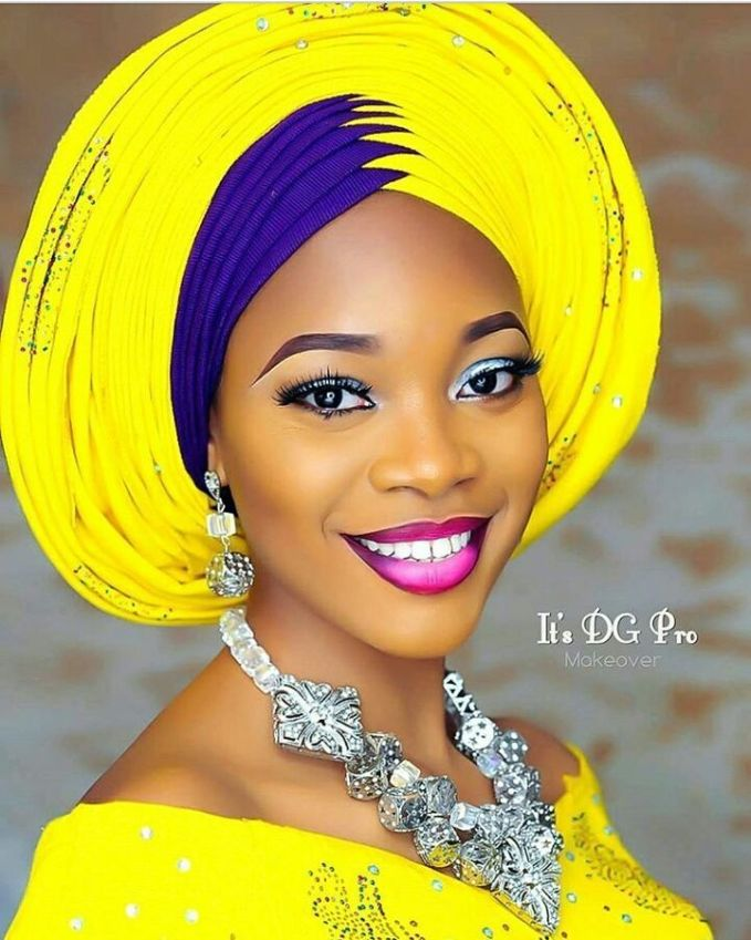 Video Tutorial: Quick Way To Tie The ZigZag Gele Style