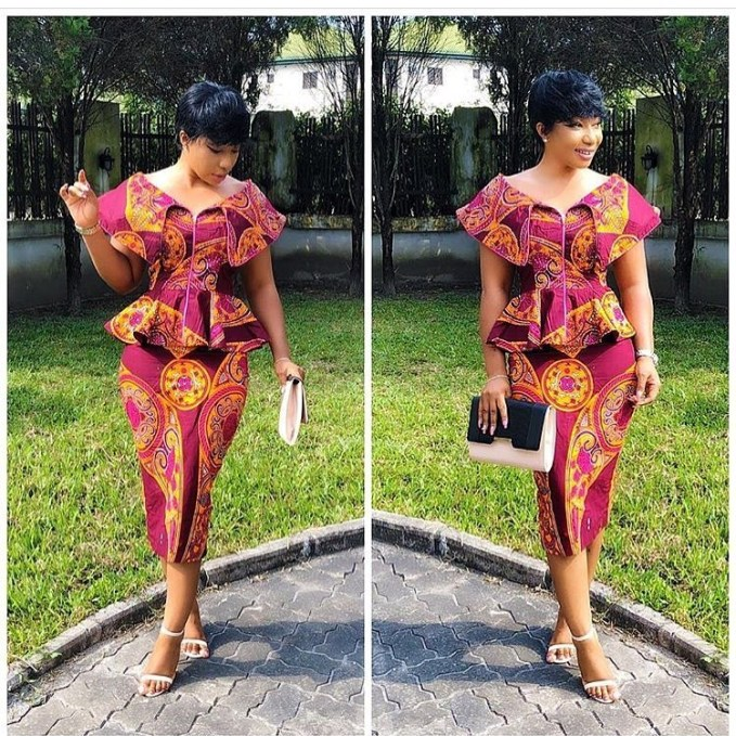 Be A Pop Of Color This Festive Period In Bright Ankara Outfits!