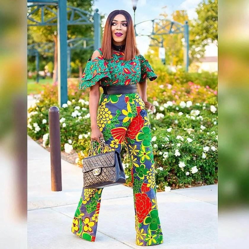 Fabulous Ankara Styles Divas Slay During Tis Christmas Holidays