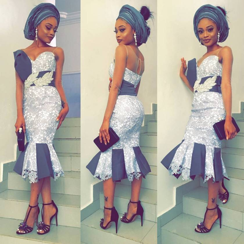 Dazzle This Christmas In These Asoebi Outfits
