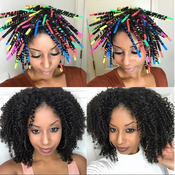 Video: Change Your Hairstyle With Straw Curls!