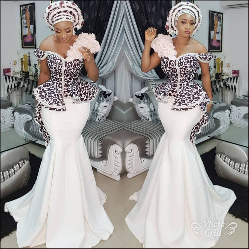 Start Off The Week In Great Ankara Styles