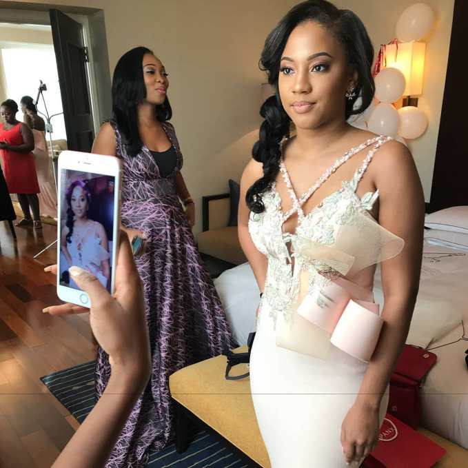 The Bride's Entourage In Beautiful Bridesmaids Styles