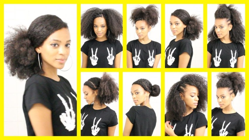 Video: 8 Quick Styles For Long Natural Hair