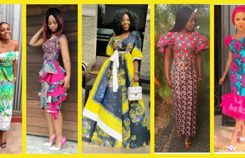 Fresh, Hot Ankara Styles From The Slay Queens