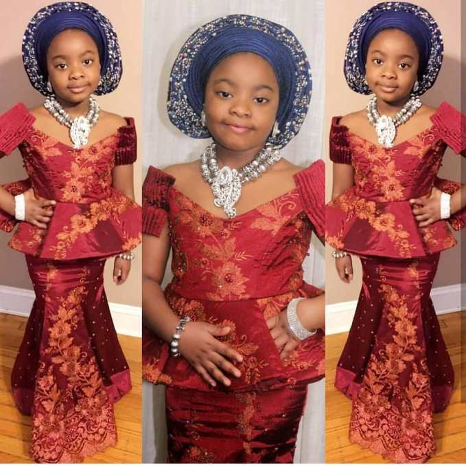 We Love These Little Girls Traditional Styles