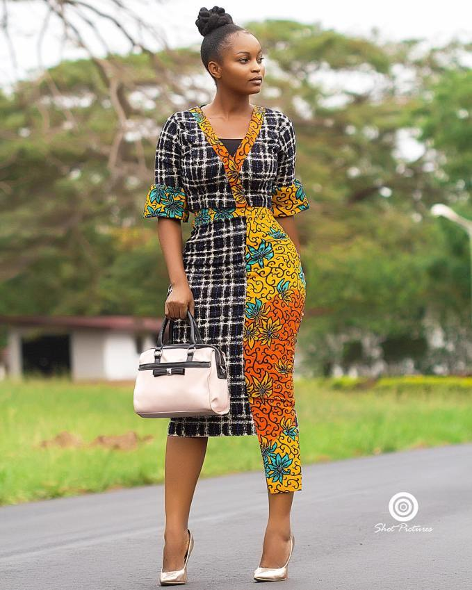 Here Are The Best Mix-Match Ankara Styles