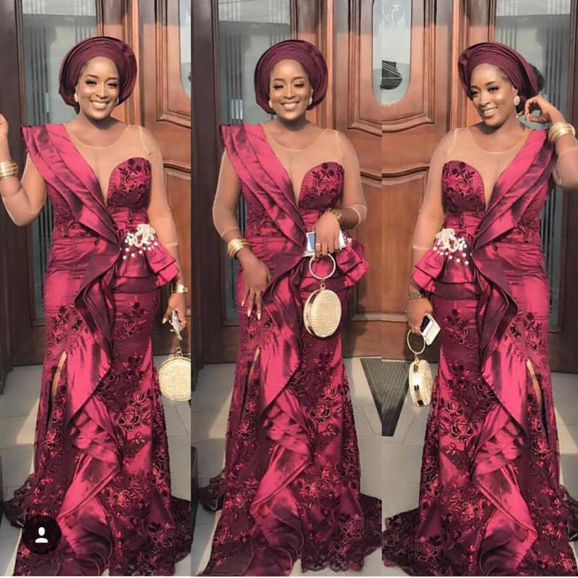Too Stunning Too Sexy Aso Ebi Styles We Are Crushing on This Week