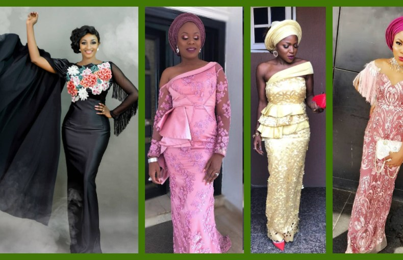 Clear The Way, The Most Fabulous Asoebi Lace Styles Are Here!!