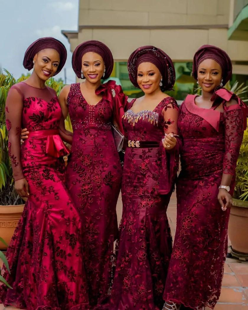 Asoebi Ladies That Slay Hard!