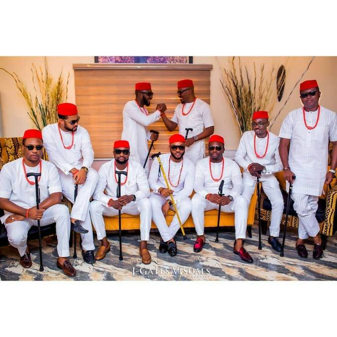 Sometimes, The Groom's Friends Styles Slay Too!