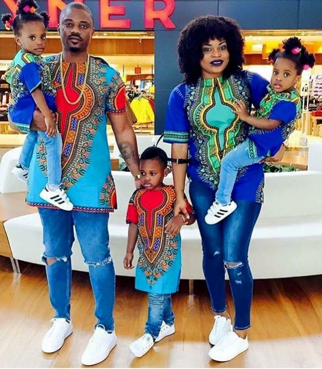 Check Out These Parents And Kids Matching Outfits