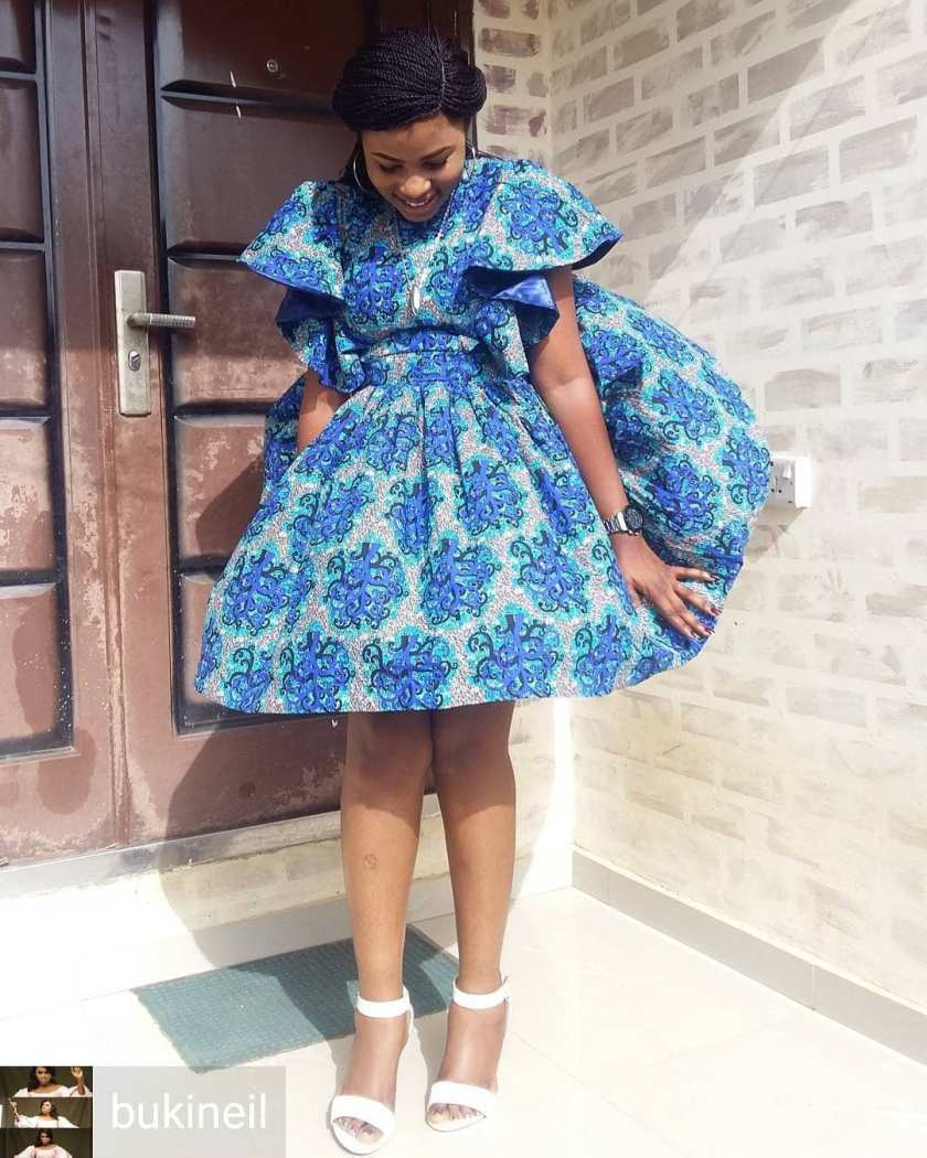 Look Elegant In These Lovely Latest Ankara Styles