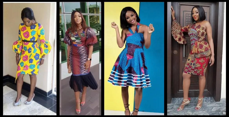Nice Short Ankara Dresses Perfect For The Season!