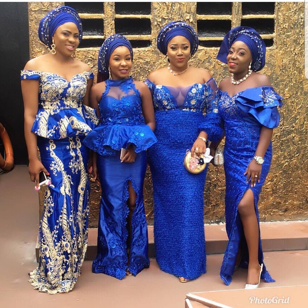 When It Comes To Hawt Latest Asoebi Styles, We've Gotcha!