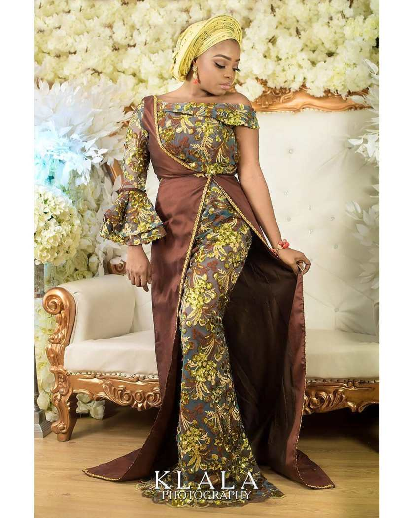 Fantastic Lace Asoebi Outfits That Will Brighten Your Day!