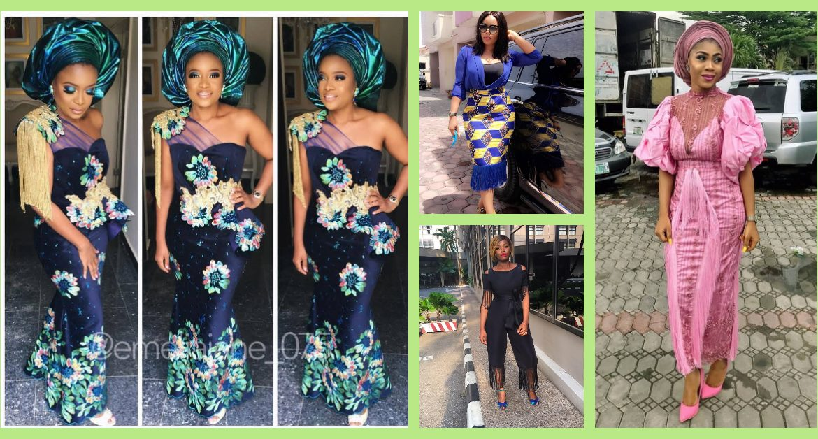 Fringe Asoebi Styles Lookbook 8