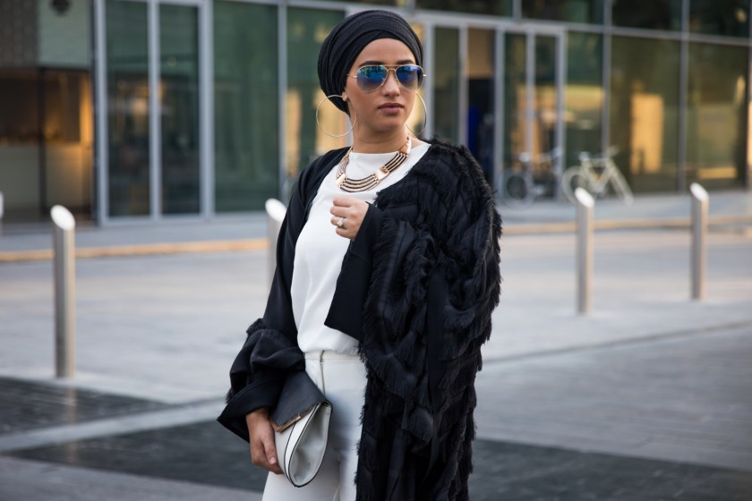 Fashionable Street Style The Hijab Way