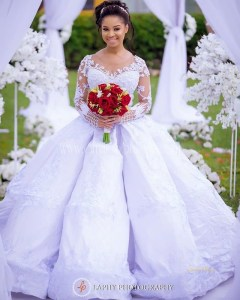 Gorgeous Wedding Dresses From The Weekend