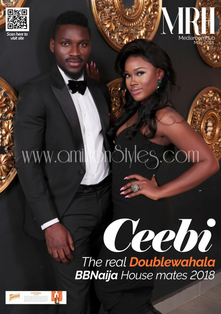 Bbnaija's Tobi And Ceecee Are The May Cover For Media Room Hub