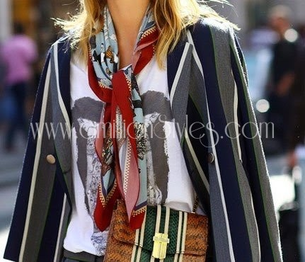 Stylish Ways Of Using That Scarf In Your Closet