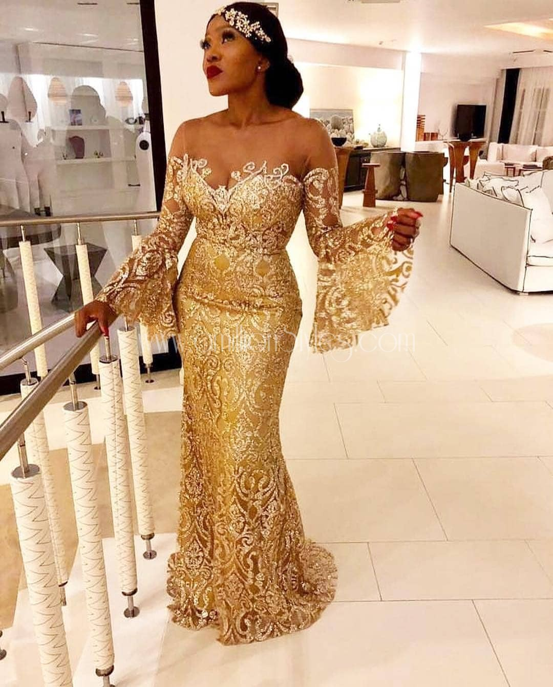 Click Here For Simple Lace Asoebi Styles That Stand Out