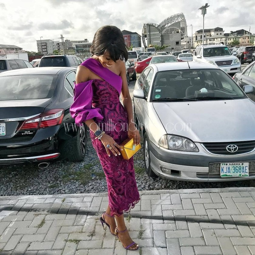 Away From The Royal Wedding, These Are The Weekend's Best Lace Asoebi Styles