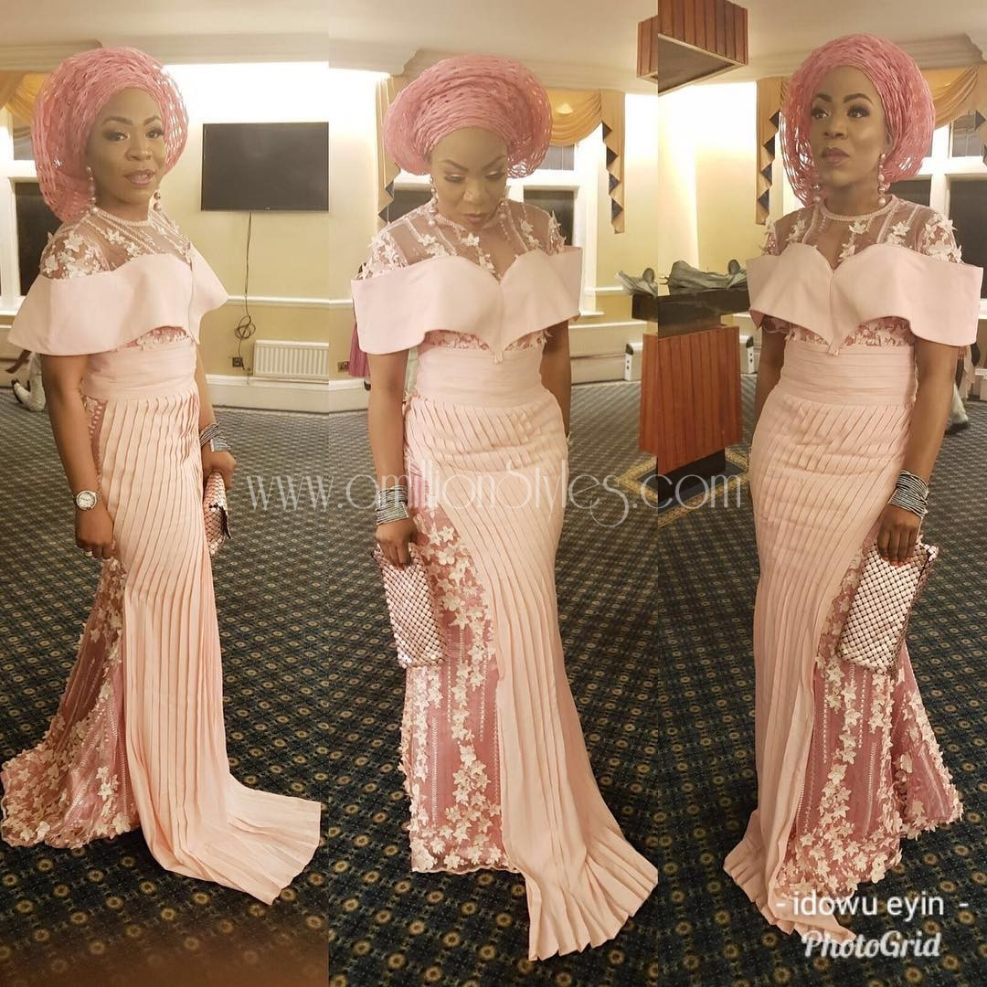 We Serve You The Perfect Lace Asoebi Styles Everytime